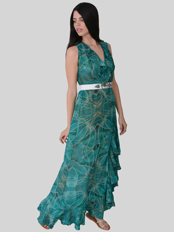 grace dress in jade main